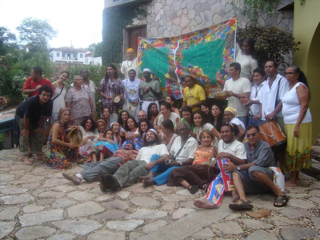 Mestre Griôs e Griôs Apredizes encontro Lençóis Bahia